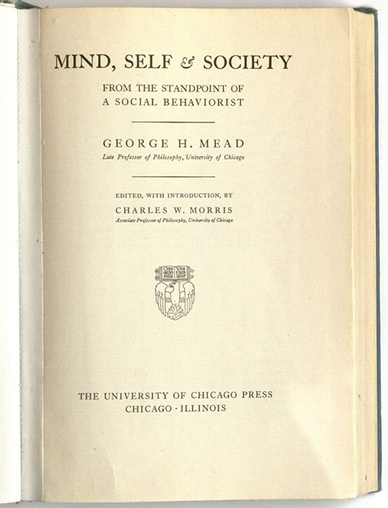 mind self and society