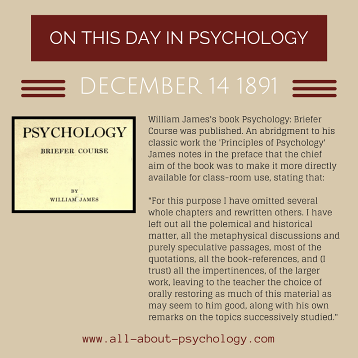 psychology coursework brief Through this brief introduction to psychology we will cruise through some of the major psychological concepts and principles, primarily focusing on the perceptual processes, learning, memory and emotions.