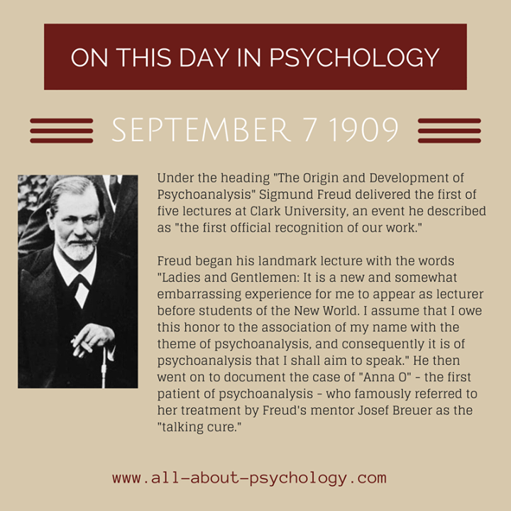 history of modern psychology anna freud Psychoanalysis after founding neo-freudians ego psychology anna freud carl jung ancient interest in consciousness: plato/aristotle modern: british empiricists wundt: forerunner of cognitive psych behaviorism: dismissal of consciousness neobehaviorism: tolman suggests s-o-r-approach.